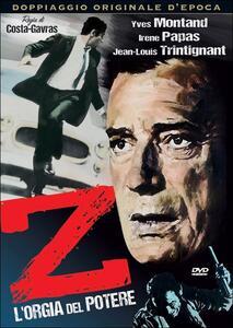 Z, l'orgia del potere di Costa-Gavras - DVD
