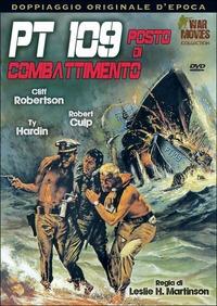 Cover Dvd PT 109, posto di combattimento