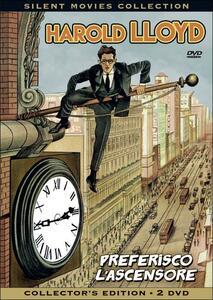 Harold Lloyd. Preferisco l'ascensore (2 DVD) di Fred Newmayer,Sam Taylor,Ted Wilde