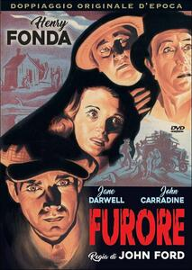 Furore di John Ford - DVD