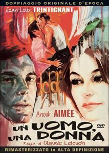 Un uomo, una donna di Claude Lelouch - DVD