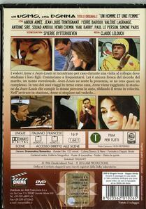 Un uomo, una donna di Claude Lelouch - DVD - 2