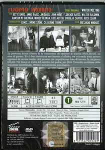 L' uomo proibito di Bretaigne Windust - DVD - 2