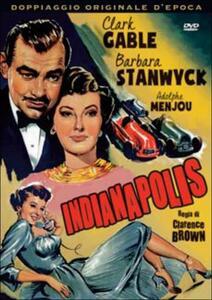 Indianapolis (DVD) di Clarence Brown - DVD