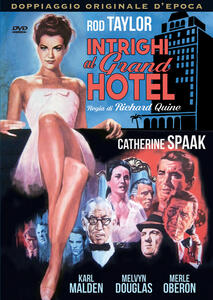 Intrighi al Grand Hotel (DVD) di Richard Quine - DVD
