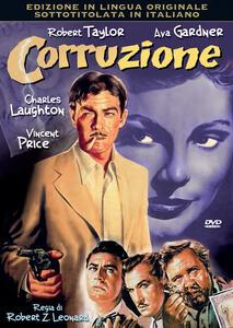 Corruzione (DVD) di Robert Z. Leonard - DVD