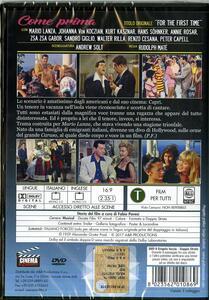 Come prima (DVD) di Rudolph Maté - DVD - 2