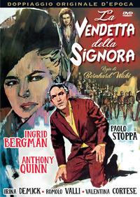 Cover Dvd La vendetta della signora (DVD)
