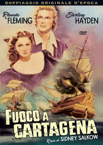 Fuoco a Cartagena (DVD) di Sidney Salkow - DVD