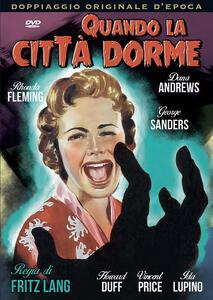 Quando la città dorme (DVD) di Fritz Lang - DVD