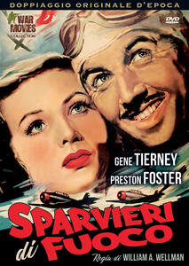 Sparvieri di fuoco (DVD) di William A. Wellman - DVD