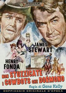 Non stuzzicate i cowboys che dormono (DVD) di Gene Kelly - DVD