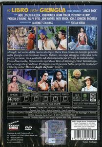Il libro della giungla (DVD) di Zoltan Korda - DVD - 2