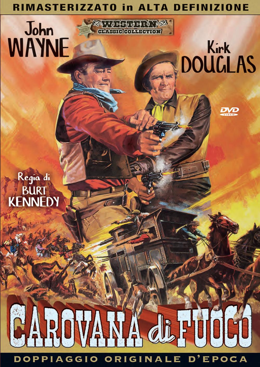 Cover Dvd DVD Carovana di fuoco