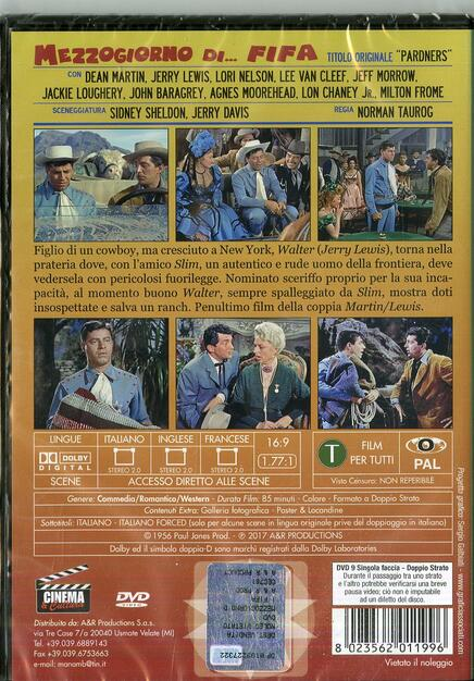 1cd0c6f1a9 Mezzogiorno di... fifa - DVD - Film di Norman Taurog Commedia   IBS