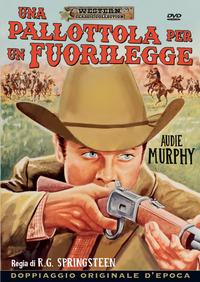 Cover Dvd Una pallottola per un fuorilegge (DVD)