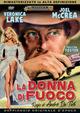 Cover Dvd La donna di fuoco
