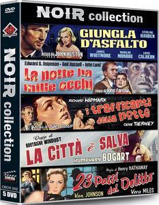 Noir Collection. Digipack (5 DVD) di Jules Dassin,John Farrow,Henry Hathaway,John Huston,Raoul Walsh,Bretaigne Windust