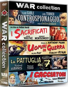 War Collection. Digipack (5 DVD) di John Ford,Anthony Mann,Leslie Norman,Dick Powell,Gottfried Reinhardt
