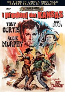Film I predoni del Kansas. Edizione in lingua originale (DVD) Ray Enright