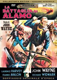 Cover Dvd La battaglia di Alamo. Edizione integrale (DVD)