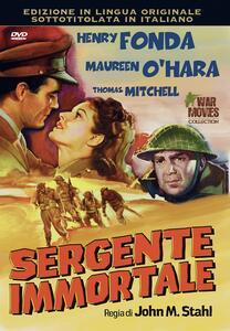 Sergente immortale (DVD) di John M. Stahl - DVD