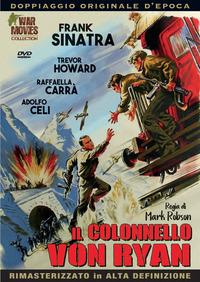 Cover Dvd Il colonnello Von Ryan. Rimasterizzato in HD (DVD)