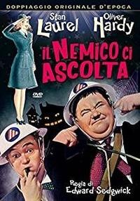 Cover Dvd Il nemico ci ascolta (DVD)