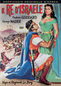 Il re di Israele. Audio rarissimo recuperato da pellicola (DVD) di Reginald Le Borg - DVD