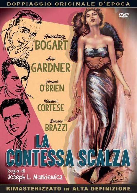 La contessa scalza (DVD) di Joseph L. Mankiewicz - DVD