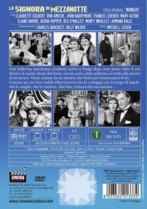 La signora di mezzanotte (DVD) di Mitchell Leisen - DVD - 2