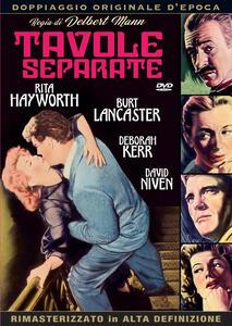Tavole separate (DVD) di Delbert Mann - DVD