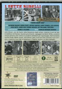 I sette ribelli di Charles M. Warren - DVD - 2