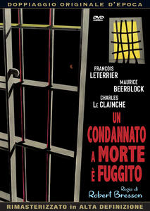 Un condannato a morte è fuggito di Robert Bresson - DVD