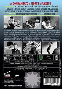 Un condannato a morte è fuggito di Robert Bresson - DVD - 2
