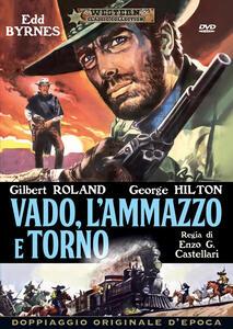 Film Vado, l'ammazzo e torno (DVD) Enzo G. Castellari