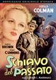 Cover Dvd Schiavo del passato