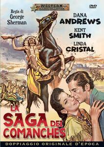 La saga dei Comanches (DVD) di George Sherman - DVD