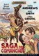 Cover Dvd La saga dei comanches
