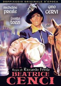 Beatrice Cenci (DVD) di Riccardo Freda - DVD