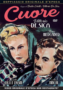 Cuore (DVD) di Duilio Coletti,Vittorio De Sica - DVD