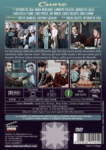 Cuore (DVD) di Duilio Coletti,Vittorio De Sica - DVD - 2