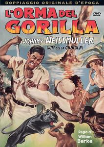 L' orma del gorilla (DVD) di William Berke - DVD