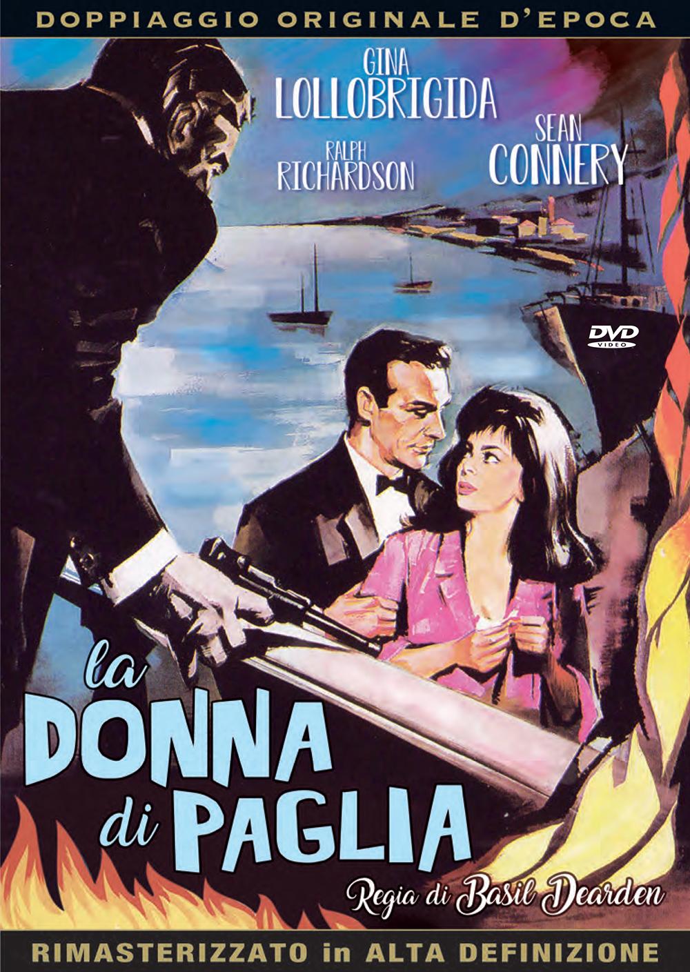 Cover Dvd DVD La donna di paglia