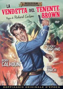 Film La vendetta del tenente Brown (DVD) Richard Carlson