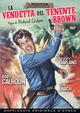 Cover Dvd La vendetta del tenente Brown