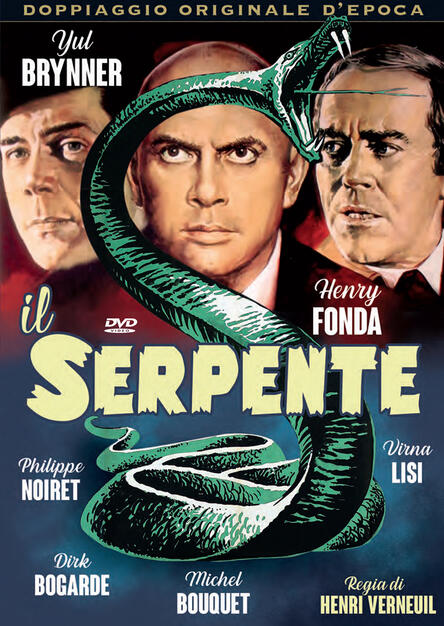 Il serpente (DVD) - DVD - Film di Henry Verneuil Giallo | IBS