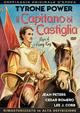 Cover Dvd DVD Il capitano di Castiglia