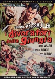 I divoratori della giungla (DVD) di Lee Sholem - DVD
