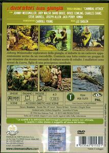 I divoratori della giungla (DVD) di Lee Sholem - DVD - 2